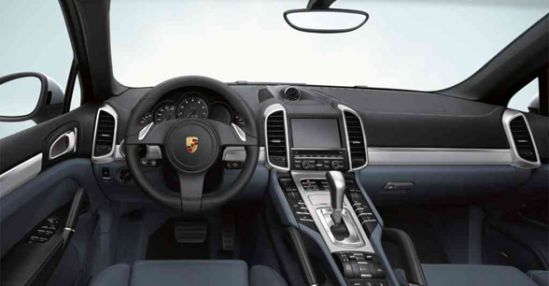 PorscheBlackInterior