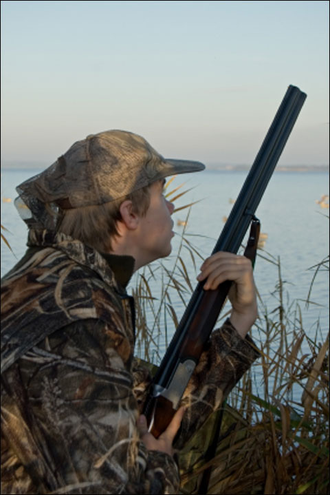 Hunter-Teenager-duck