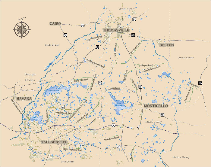 Red Hills map from redhillsregion