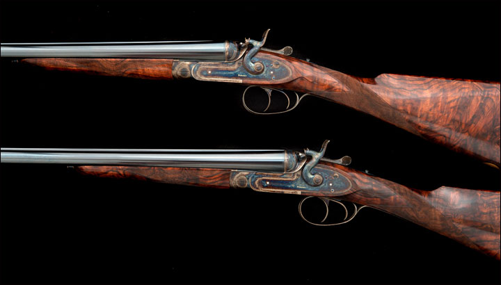 Pair Purdey Hammergun 12 bore 30169 30170 5