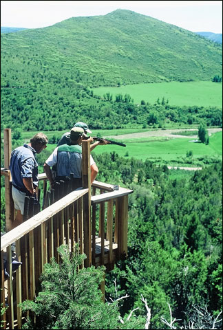 Seven Lakes Lodge Mountain deck